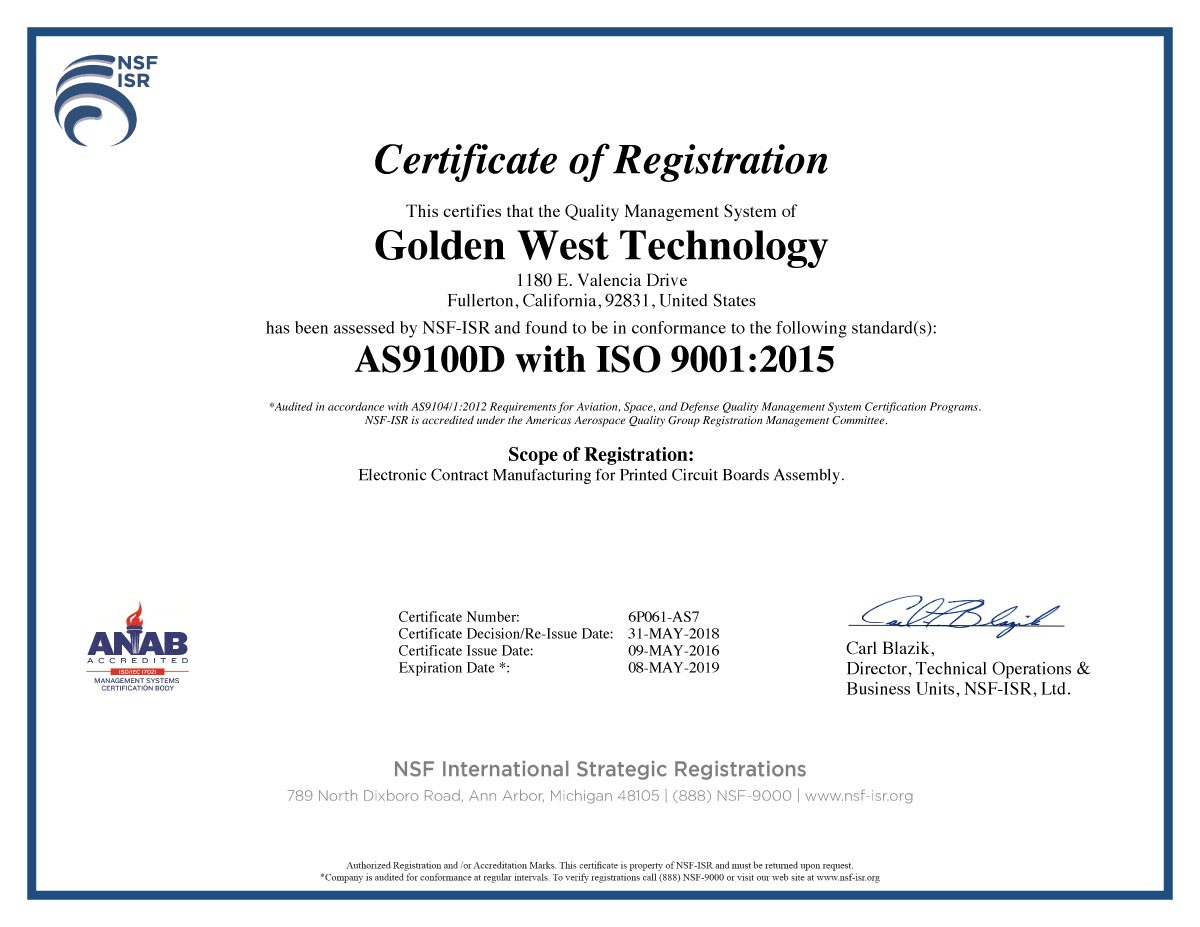 Golden-West-Technology-9001D-ISO9001-2015-Cert-2018